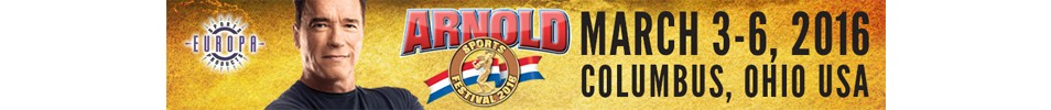 2016 Arnold Classic Event banner