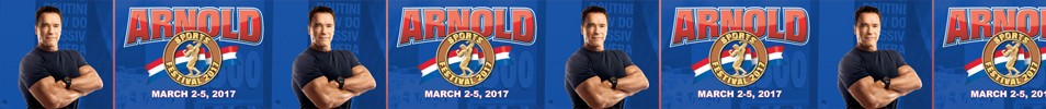2017 Arnold Classic Event banner