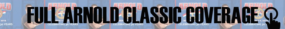 2018 Arnold Classic Event banner