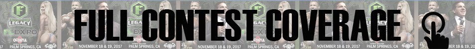2017 IFBB Ferrigno Legacy Pro Event banner