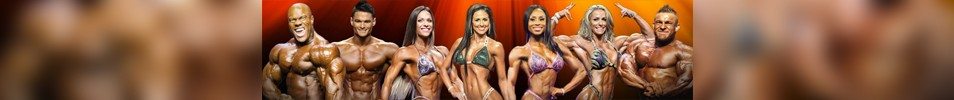 2016 Olympia Fitness & Performance Weekend Event banner