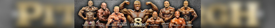 2016 IFBB Pittsburgh Pro Championships Event banner