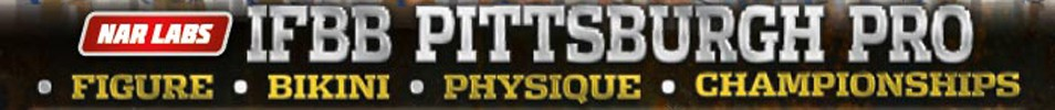 2015 IFBB Pittsburgh Pro Event banner