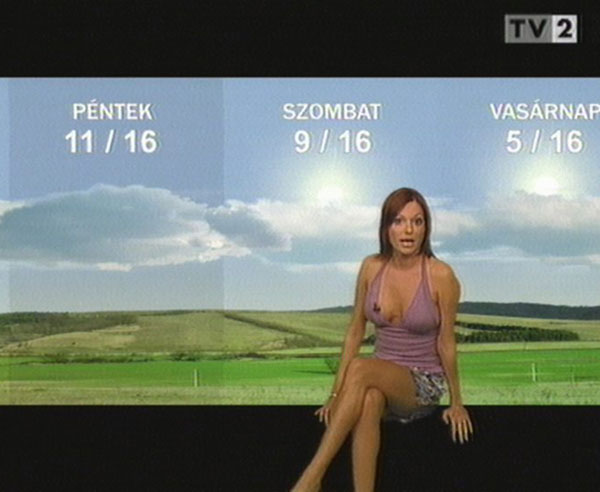 The Hottest Weather Girls on Television: Sexy Sirens of the Small