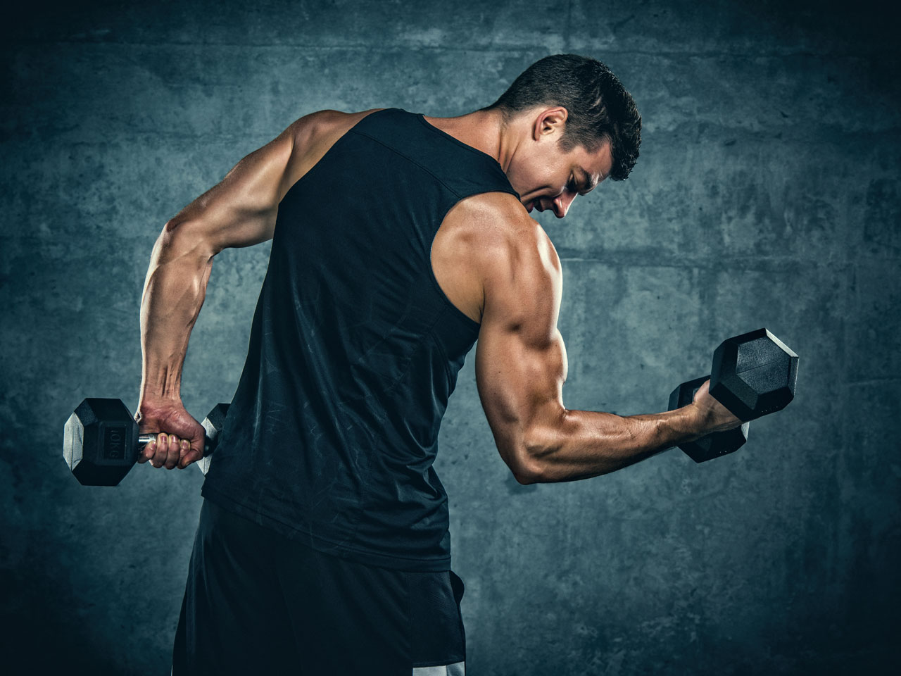 The best 45-minute biceps workout