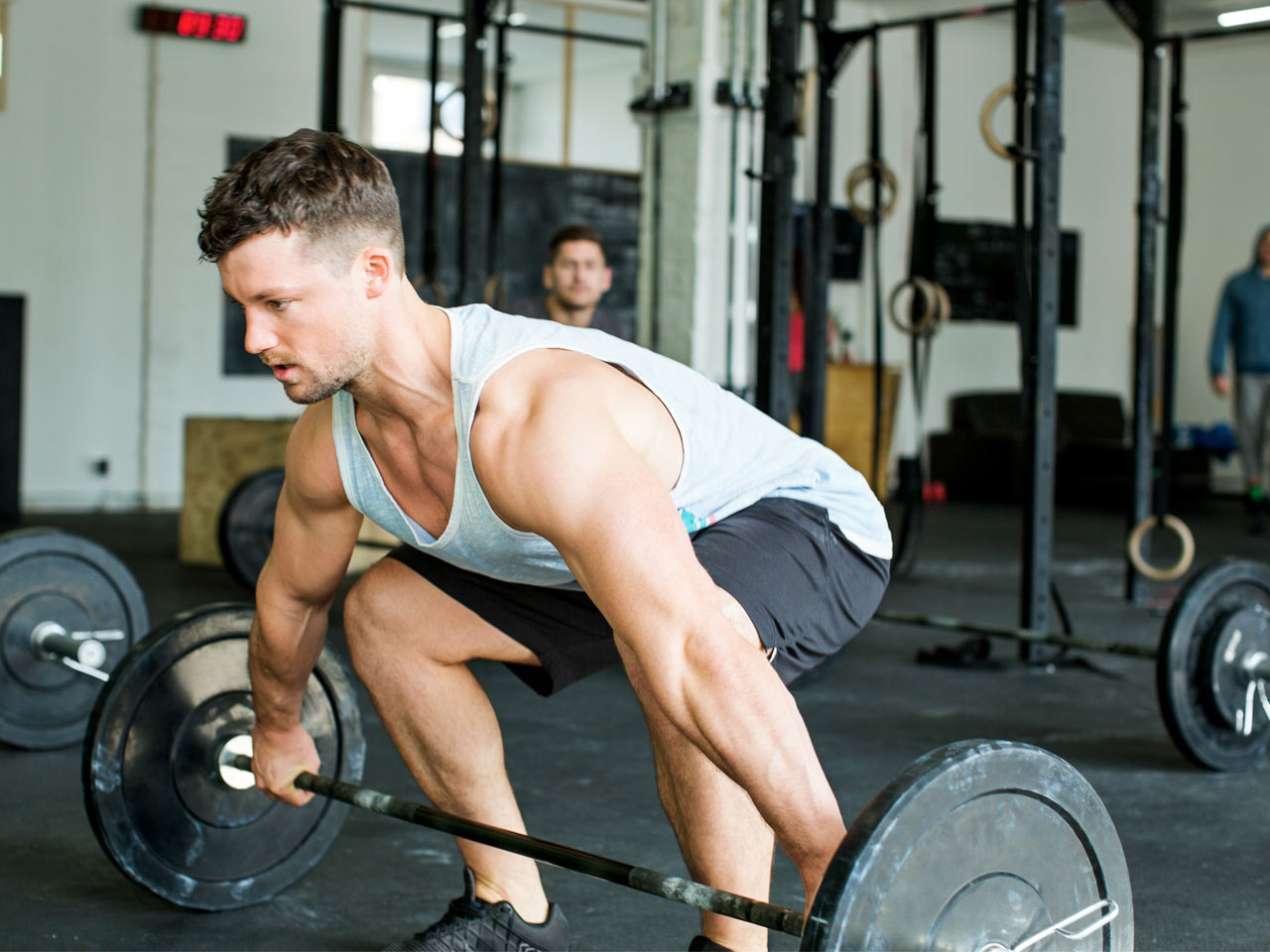 The Trophy Muscle Workout: Pump up your legs, shoulders, and abs on day 1