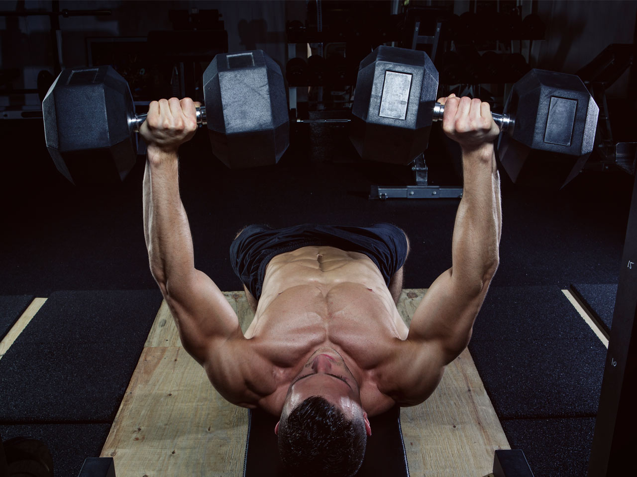 The Trophy Muscle Workout: Build your chest, back, and core on day 2