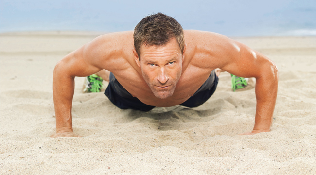Image result for Aaron Eckhart workout