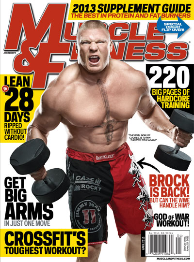 Channel All Things WWE in the April Issue of Muscle & Fitness