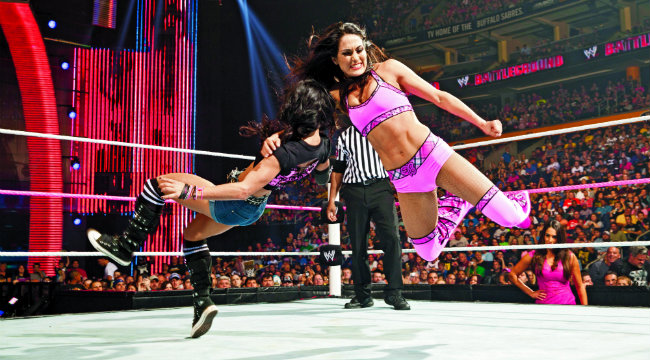 Hot Women Of Wwe The Bella Twins  Muscle  Fitness-9441
