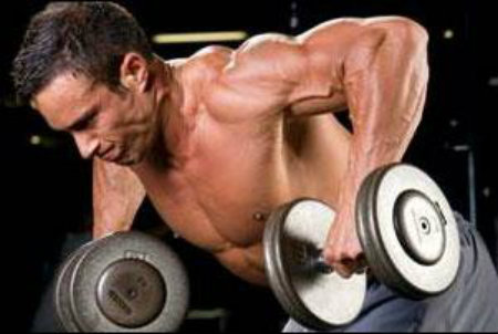 Dumbbell Wide Row 1