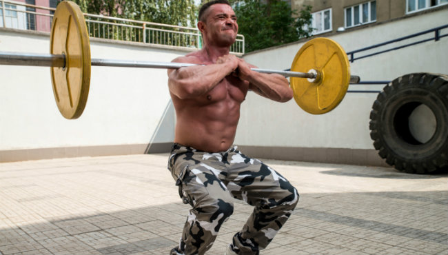 Get Crushed: Back Squat/Front Squat Combo