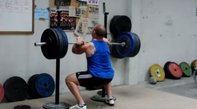 Get Crushed: The Front Squat From Hell