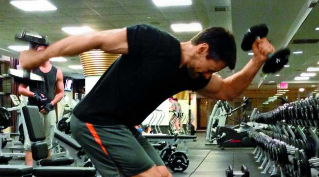 Demolish Your Delts with The Sprinter
