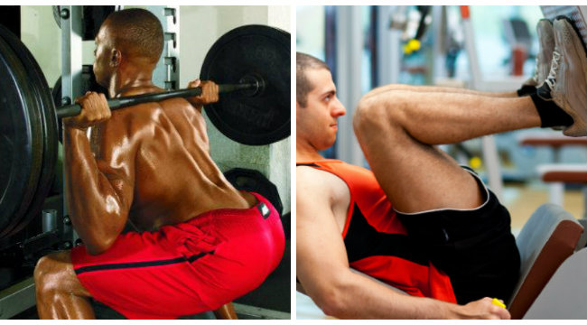 Leg Workout: The Squat and Leg Press | Muscle & Fitness