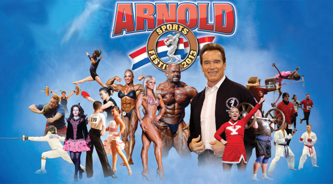 Arnold Sports Festival: USA in Columbus, OH - March 2-5, 2017