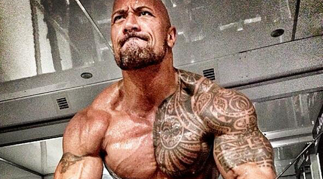The Rock Tweets 'Hercules' Diet Plan and Workout Pics