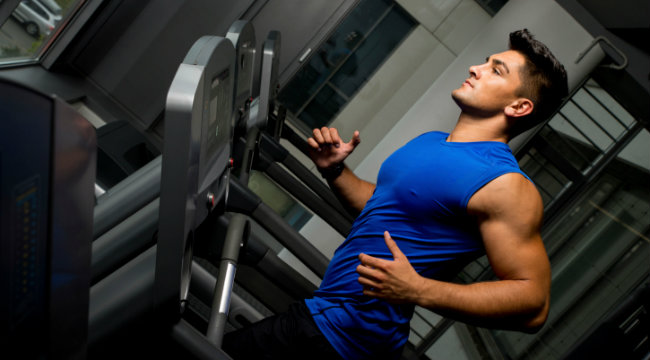 10-Minute Treadmill Blast