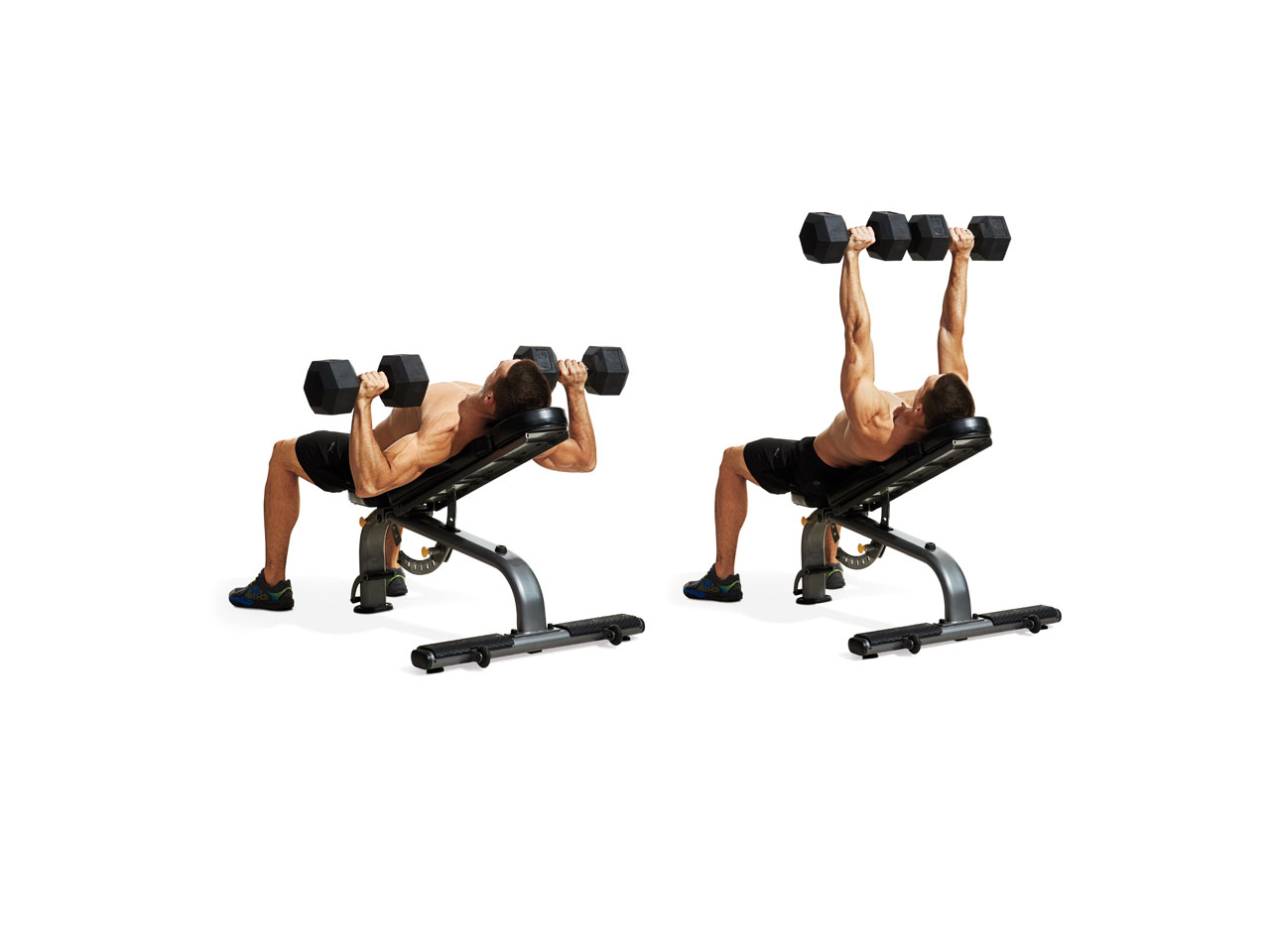 Incline Dumbbell Press Video