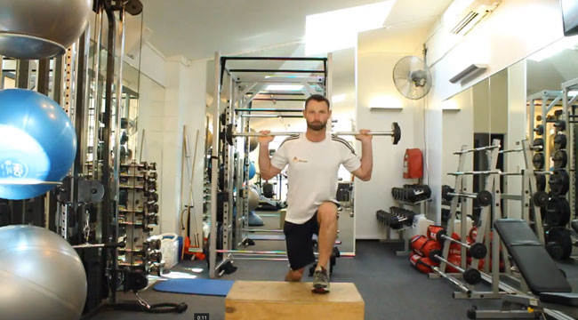 Step Up Your Leg Workout