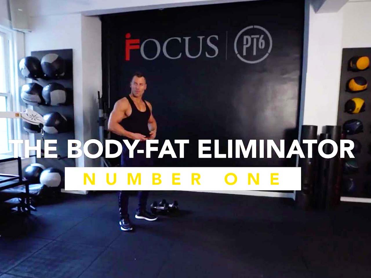 The Body-Fat Eliminator Workout #1: The routine to torch your love handles