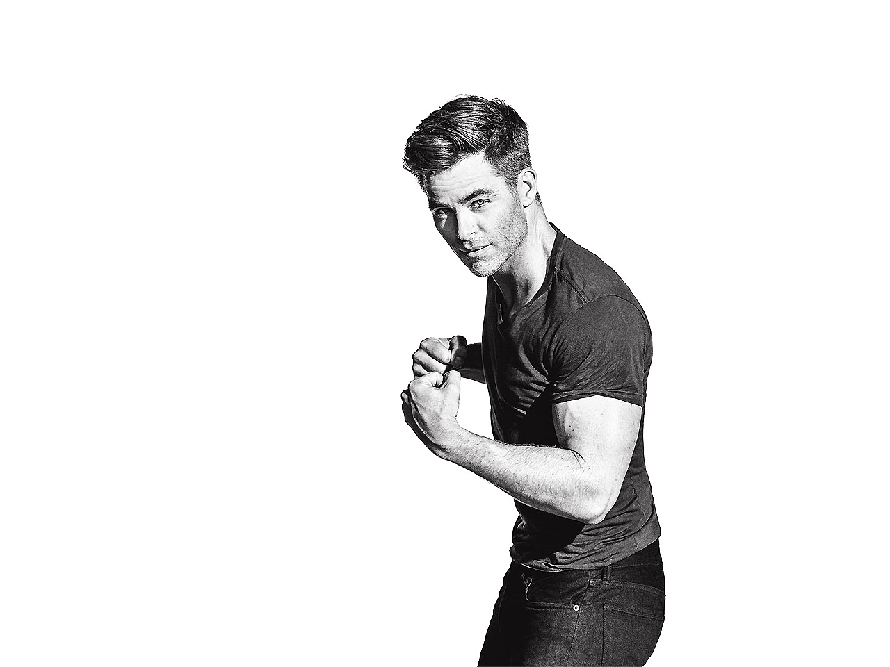 Build lean muscle at warp speed with Chris Pine's 'Star Trek' workout