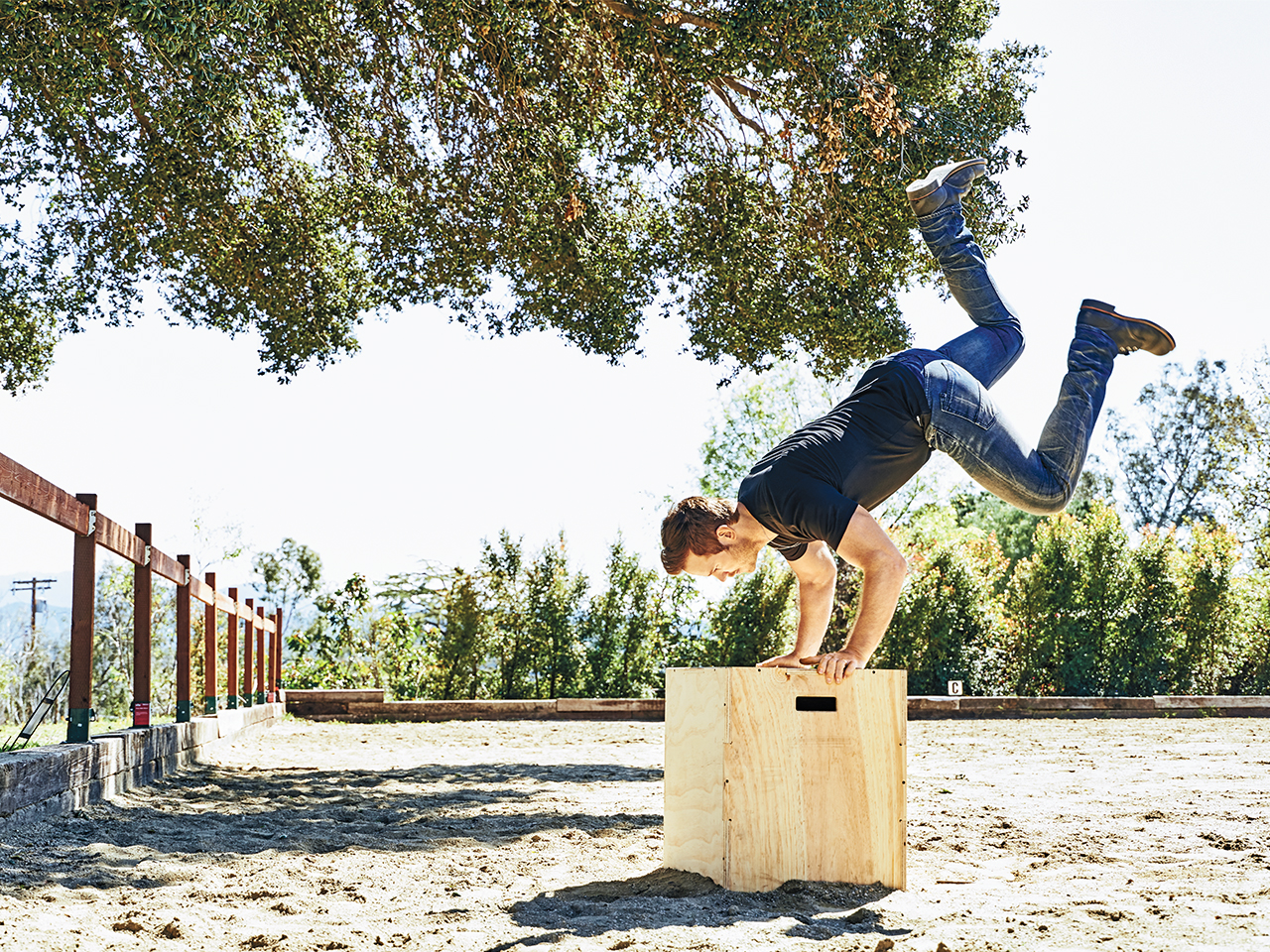 Chris Pratt Does Tabata And CrossFit-Style Workout