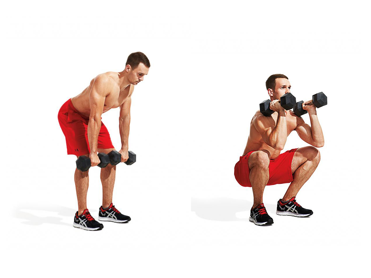 How to Do a Dumbbell Clean and Push Press How to Do a Dumbbell Clean and Push Press new picture