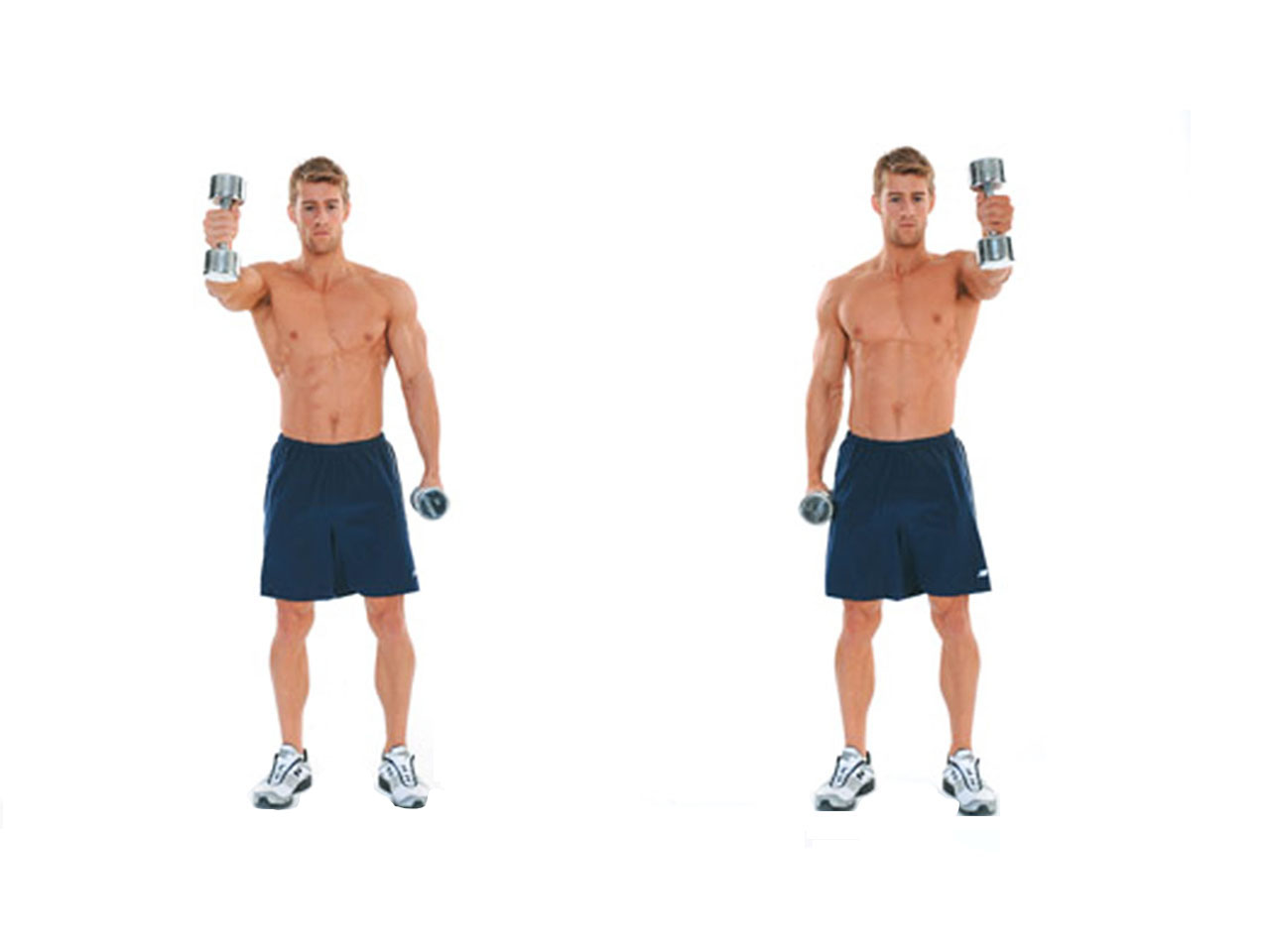 Two Arm Alternating Dumbbell Swing Video Watch Proper