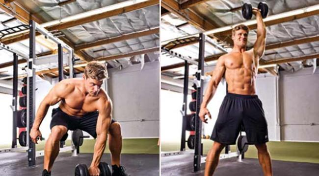 Stronger in 60 Seconds: Dumbbell Snatch