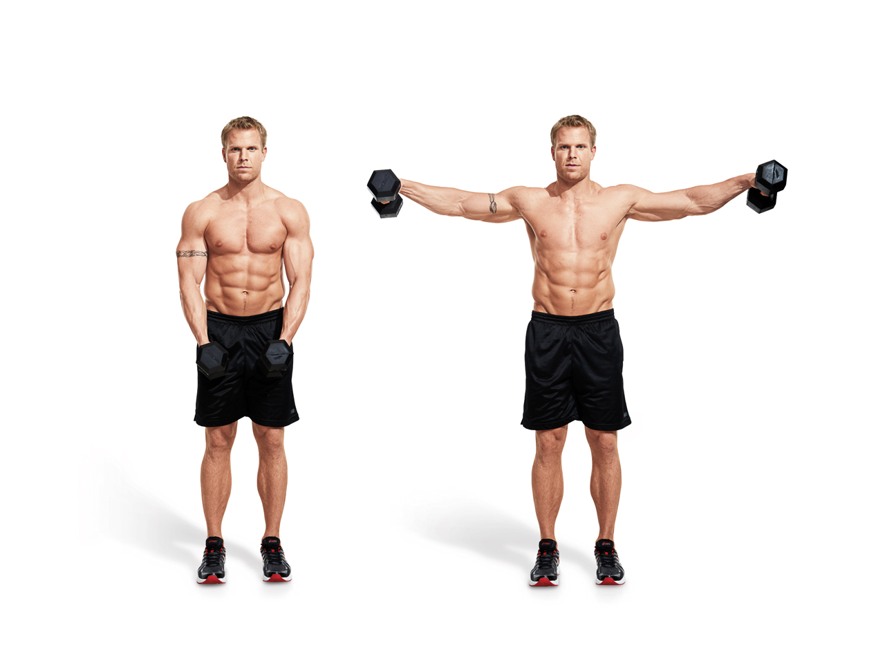Dumbbell Lateral Raise Video - Watch Proper Form, Get Tips ...