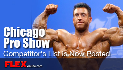 2012 Chicago Pro Show Contest Information
