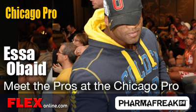 Essa Obaid at the Chicago Pro