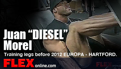 IFBB Pro Juan Morel Preps for the Hartford Europa