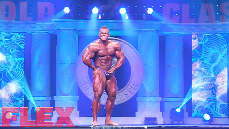 2017 Arnold Classic Routine: Dallas McCarver | Muscle & Fitness