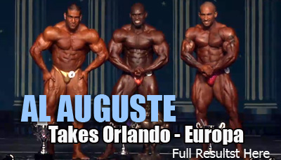 Al Auguste wins the 2012 Orlando Europa Show of Champions