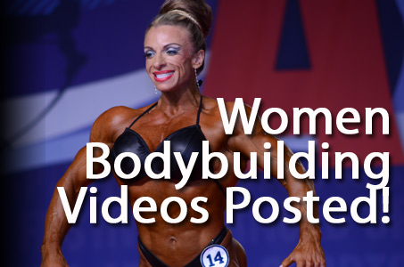 MS International Women Bodybuilding 60 Second Routines