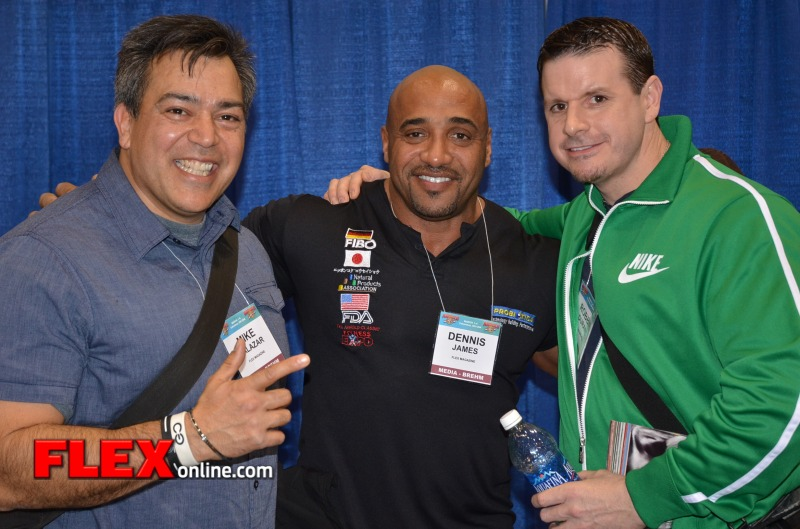 2012 Meet and Greet Arnold Classic Interviews