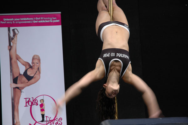 Pole Stripping for Fitness