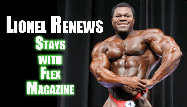 Lionel Beyeke renews exclusive contract with Weider/AMI