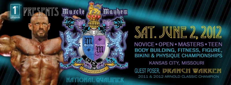 2012 Muscle Mayhem Bodybuilding Championships