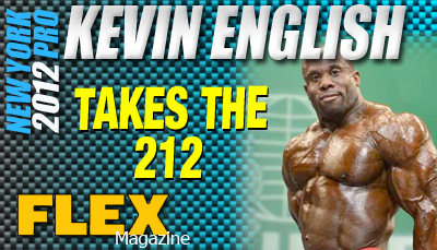 Kevin English Wins the 212 New York Pro