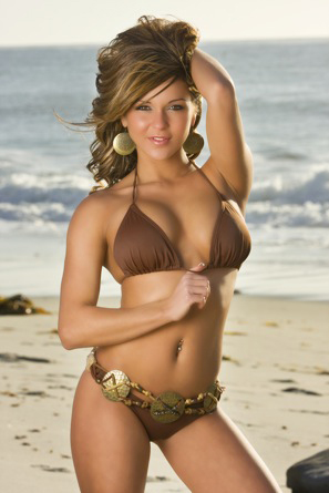 Lindsay Brown was one of two selected as the June 2012 Flex Bikini Model Search Winner and will compete at the Olympia for the overall title