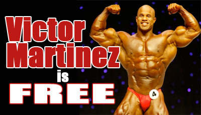 Victor Martinez is Free from Rikers Island