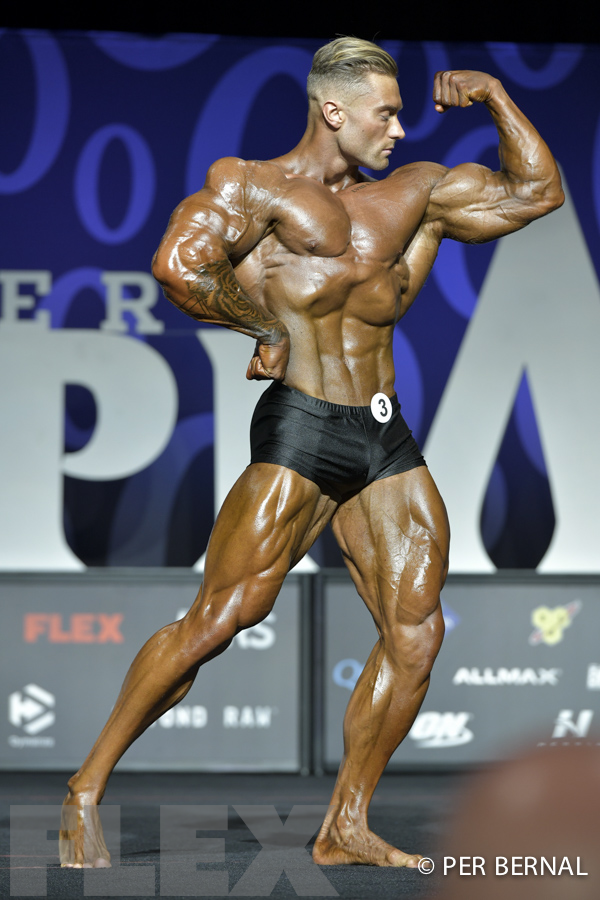 Chris Bumstead Classic Physique 2017 Olympia Muscle