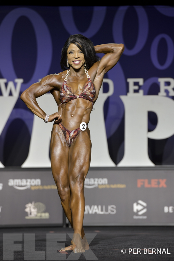 Mayla Ash - Women's Physique - 2017 Olympia