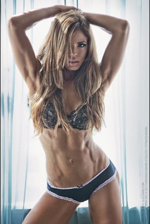Ana Delia was one of two selected as the August 2012 Flex Bikini Model Search Winner and will compete at the Olympia for the overall title
