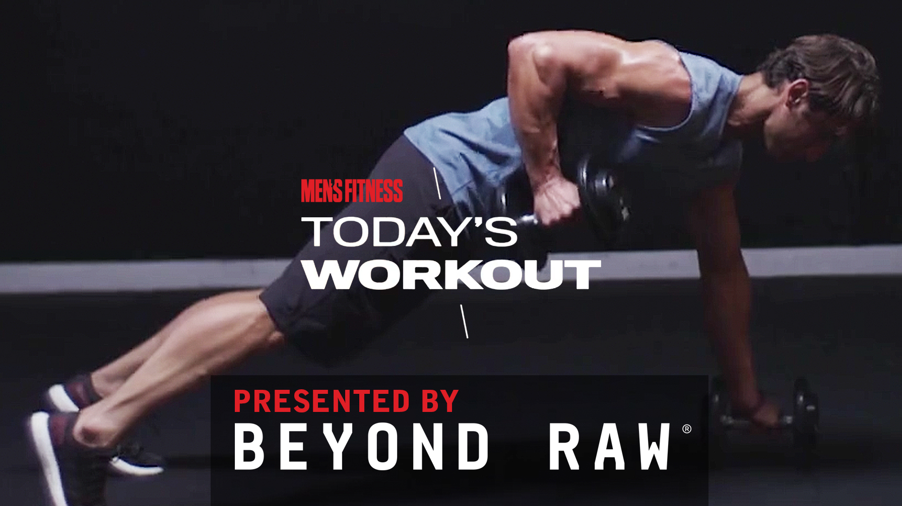Today's Workout 37: The 3-move circuit for total-body strength