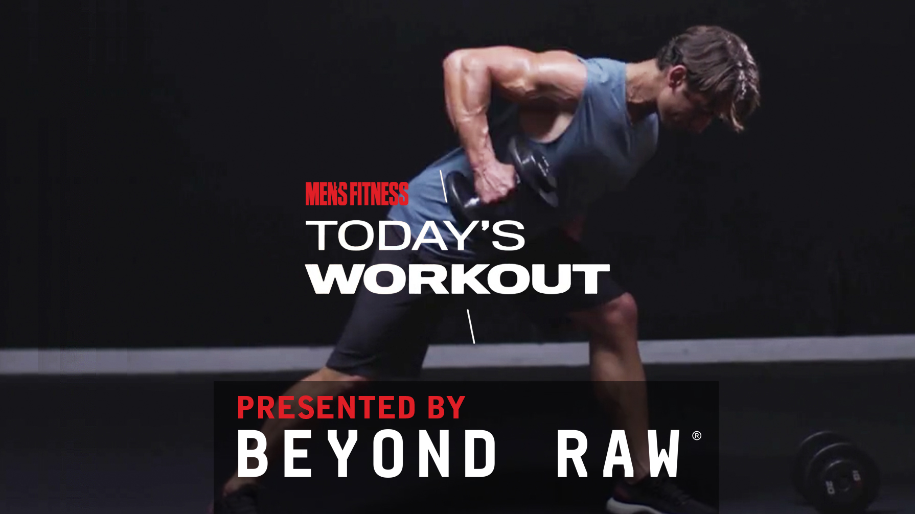 Today's Workout 35: The total-body circuit to develop muscle mass