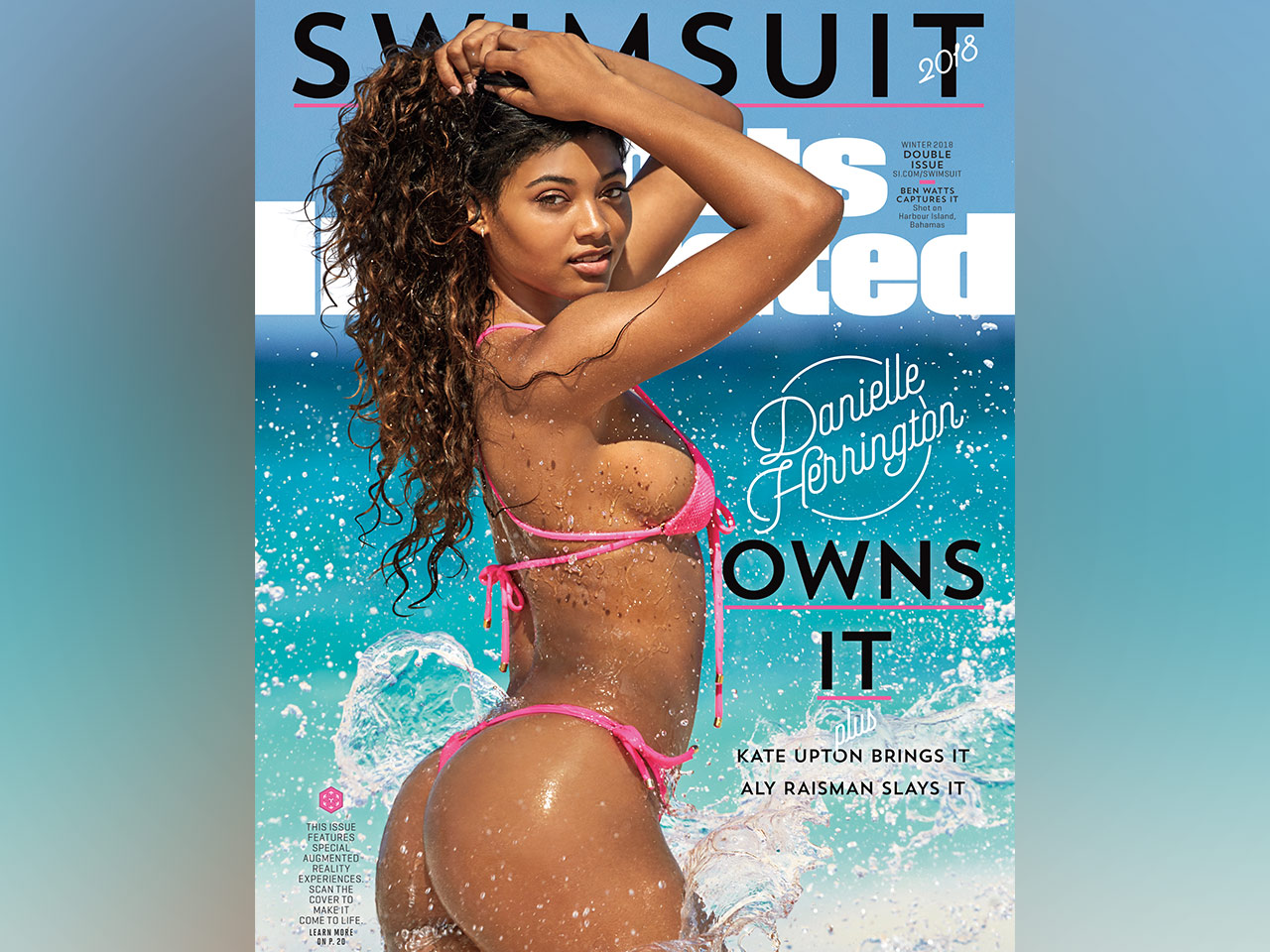 c1b77f626c2 9 stunning photos of 2018 'Sports Illustrated' Swimsuit Issue cover model  Danielle Herrington | Muscle & Fitness